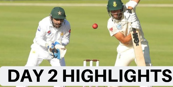 Pakistan vs South Africa 2nd Test Day 2 Highlights 4 Jan 2018