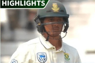 Pakistan vs South Africa 2nd Test Day 3 Highlights 5 Jan 2020