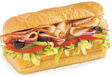 My subway sandwich looks nothing like this!