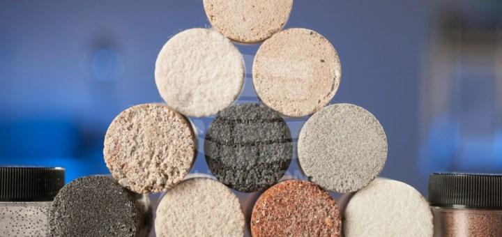 bioMASON Cylinder Samples