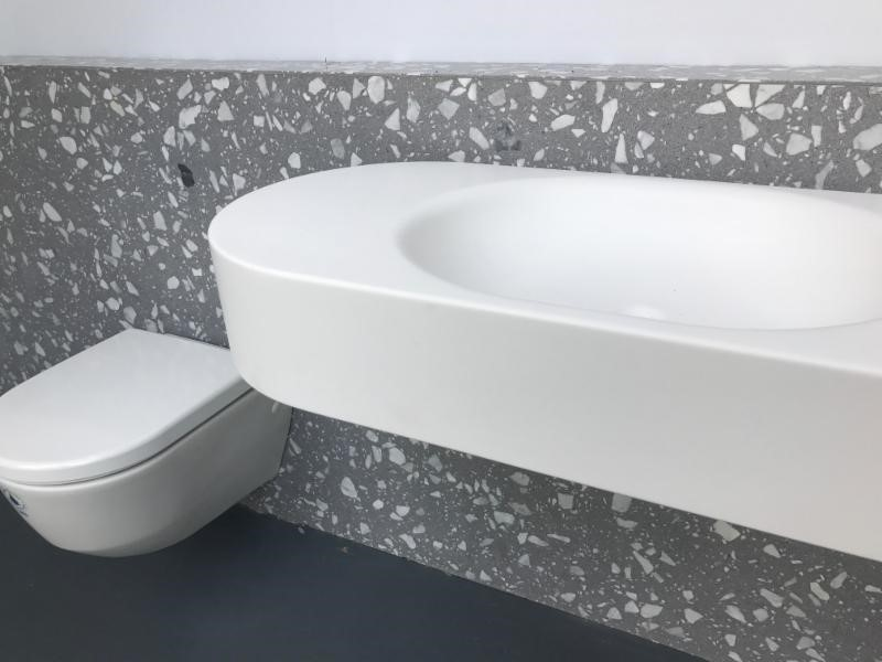 CoveringsETC Introduces Venetian Terrazzo   Torcello Grey G.