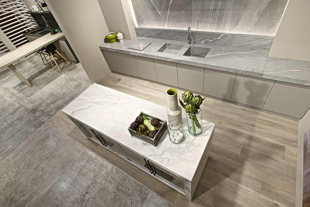 s marble look white honed worktops that kitchen quartz countertops looks like