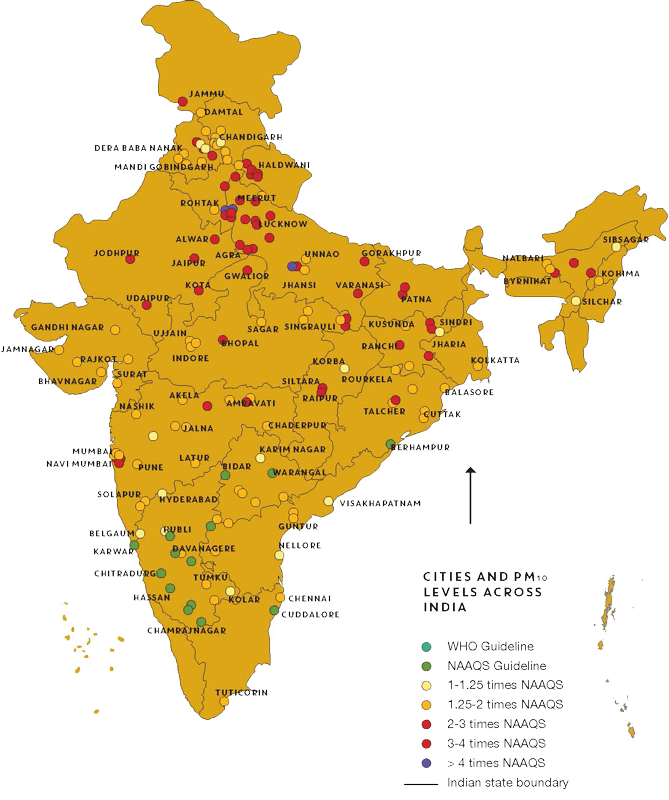 Air Pollutions In Most Indian Cities is Hazardous to Health | Greensutra | India