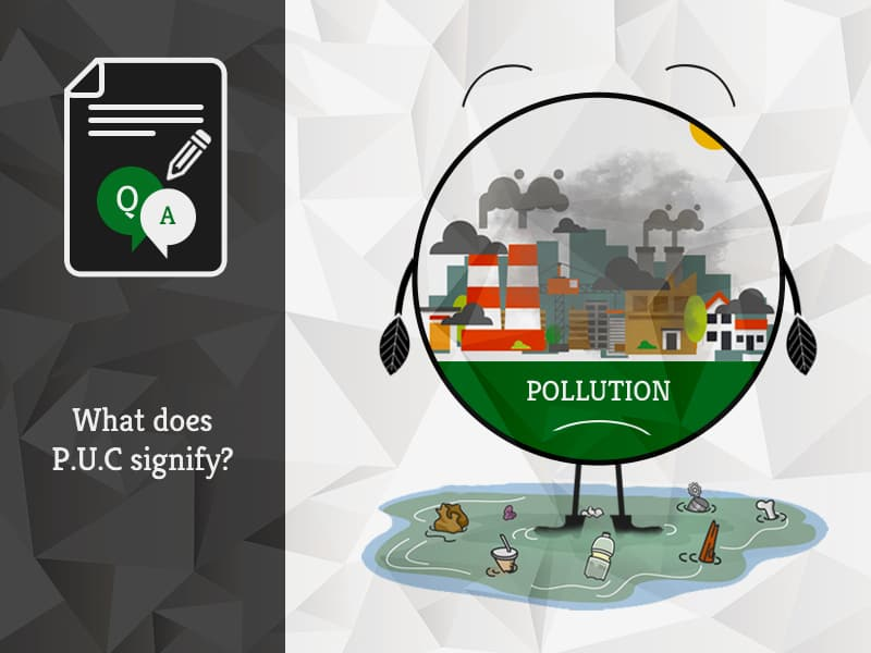 What does PUC signify | GreenSutra | India