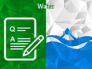 Water | Question Category | Experts Corner | Greensutra | India