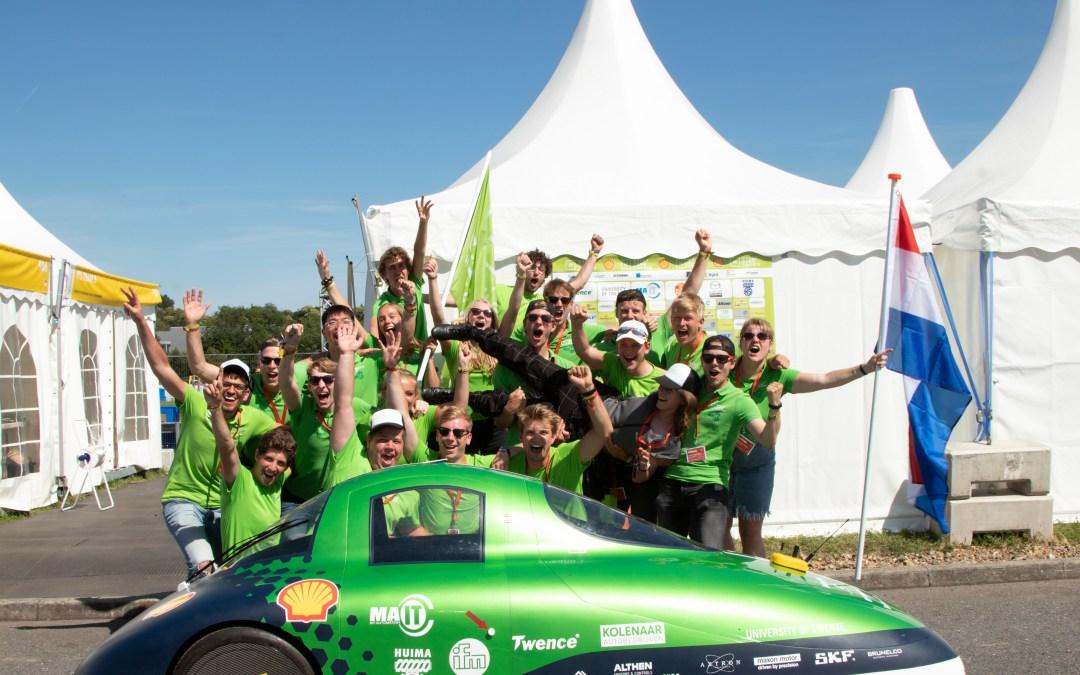 Tubantia: Green Team Twente wint ook Driver's World Championship