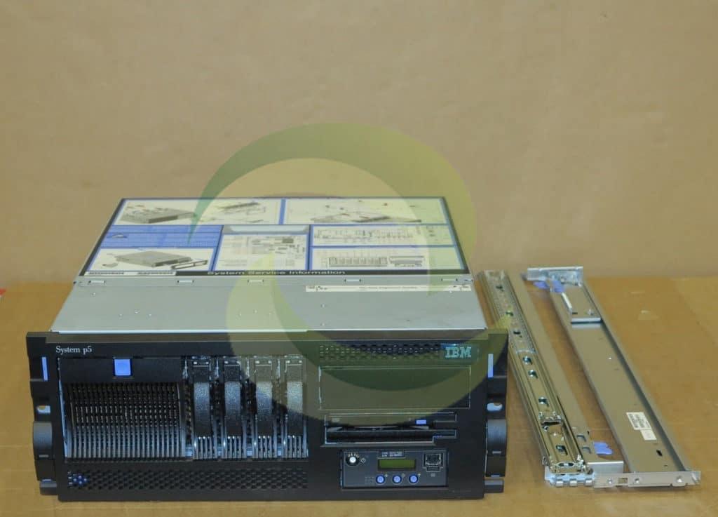 ibm system p5 520 4u rack server 9131