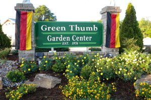 image of Garden Center sign