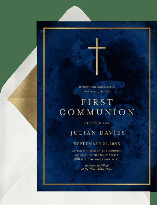 6 confirmation invitations to celebrate