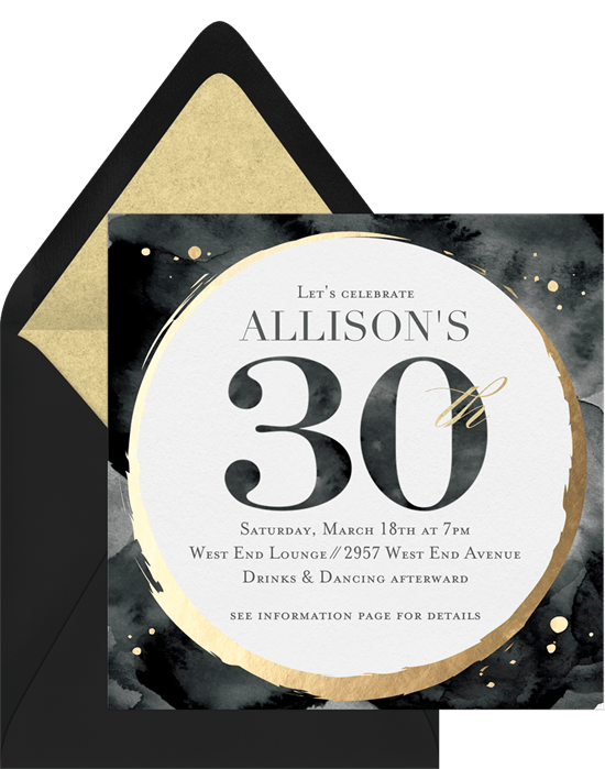 40 birthday invitation wording ideas