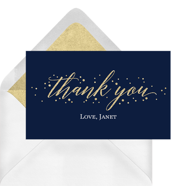 Thank You Card Ideas For Every Priceless Gift Stationers
