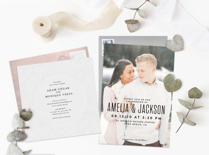 Por Wedding Invitation Trends For 2019 Stationers