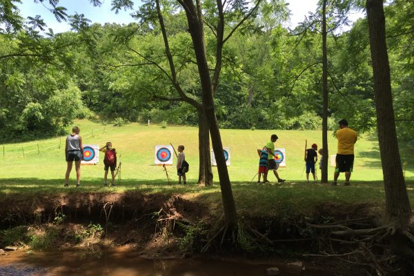 Summer Camp Programs - Archery Target Practice