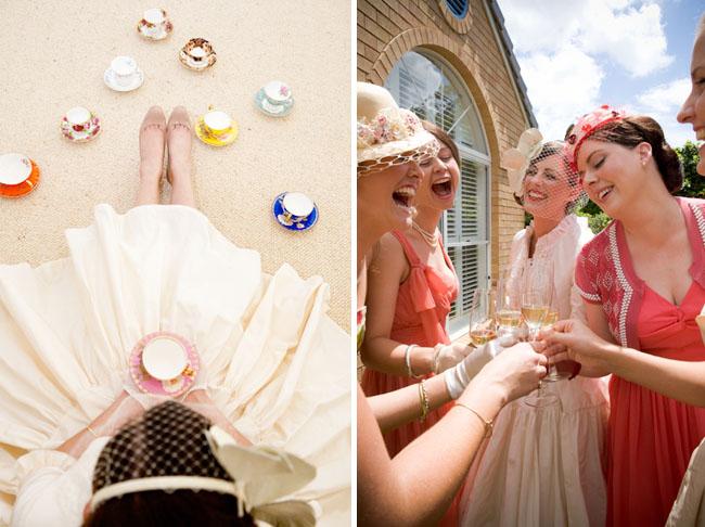 tea party bride