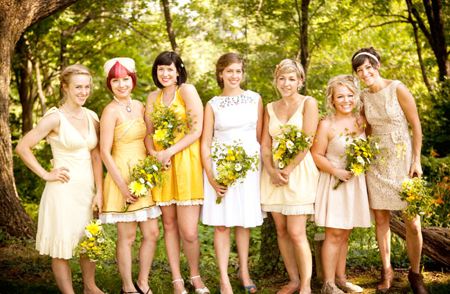 Yellow & Green Wedding