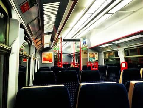 通勤電車の中でカジノをするなら