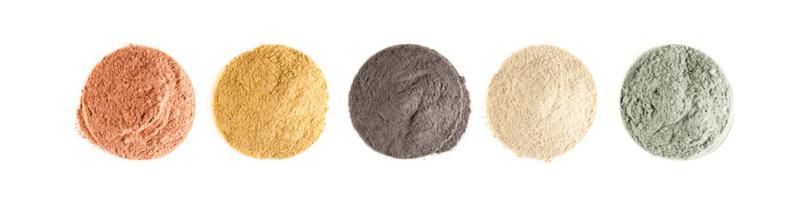argile surfine en poudre