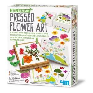 Jeux d'apprentissage : kit presse-fleurs, 4M