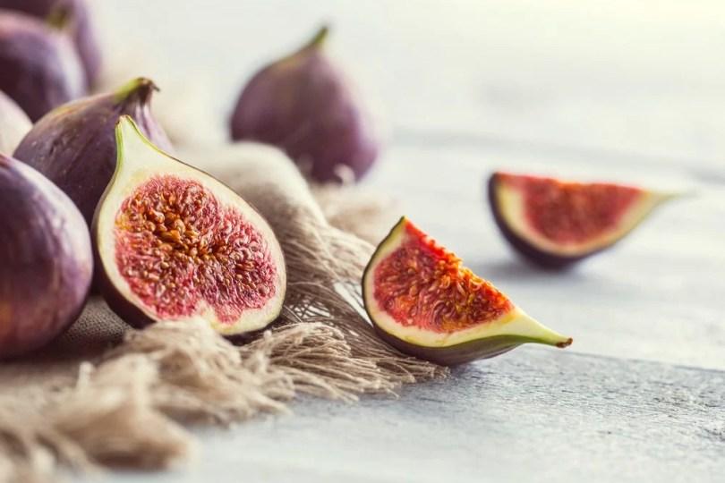 fruits et légumes frais figues