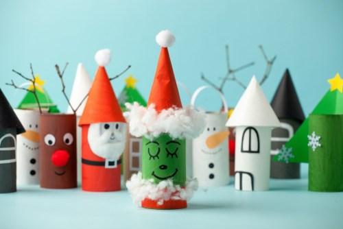 idées pour upcycler les déchets de Noël
