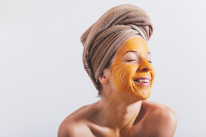 aliments cosmétiques : masque à l'oeuf