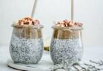 recettes d'hiver : chia pudding aux poires