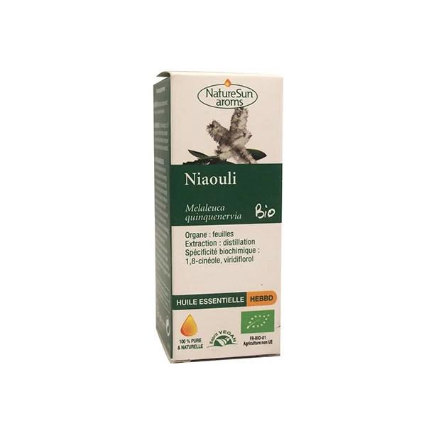 défenses immunitaires : huile essentielle de niaouli