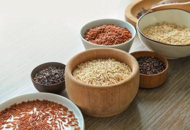 Les différents riz