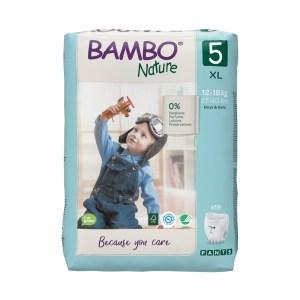 Culottes d'apprentissage bio Bambo Nature