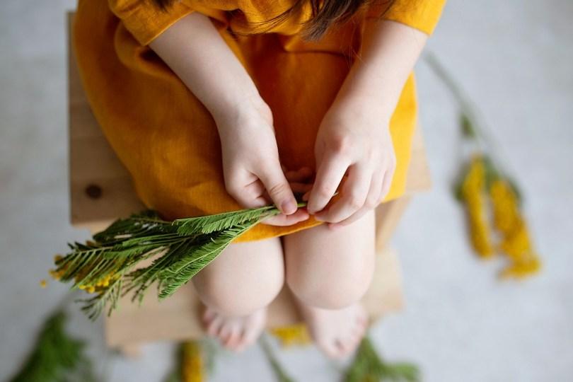Activités de plein air enfants : réaliser un herbier