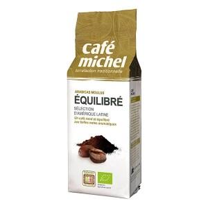 Café moulu bio et issu du commerce équitable Café Michel