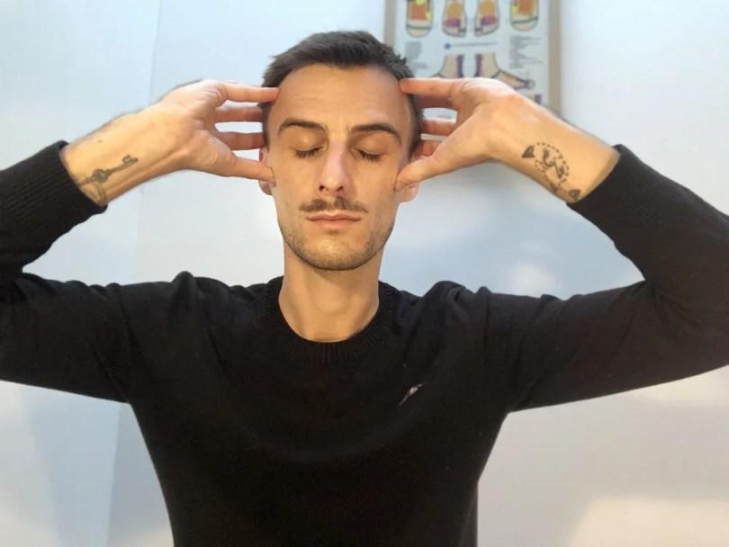 auto-massage migraines et maux de tête