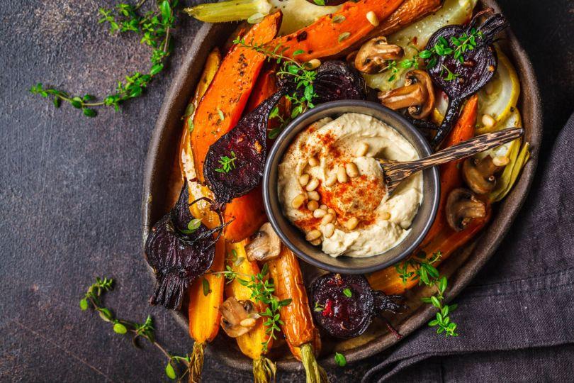 Légumes anciens pour un menu de noël végan
