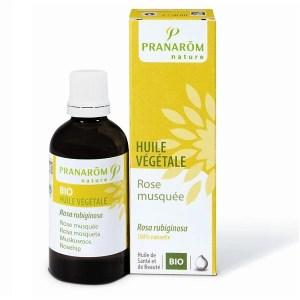 Baume à lèvres nourrissant : huile végétale de rose musquée, Pranarom