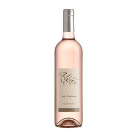 Vin bio : vin gris Cuvée des Oliviers, Château Montfrin