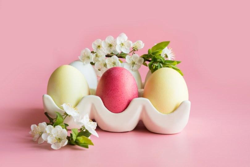 Teinture végétale œufs de Pâques