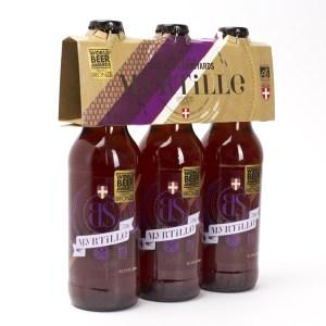 Pack BS myrtille, 3x33cl, Brasseurs Savoyards