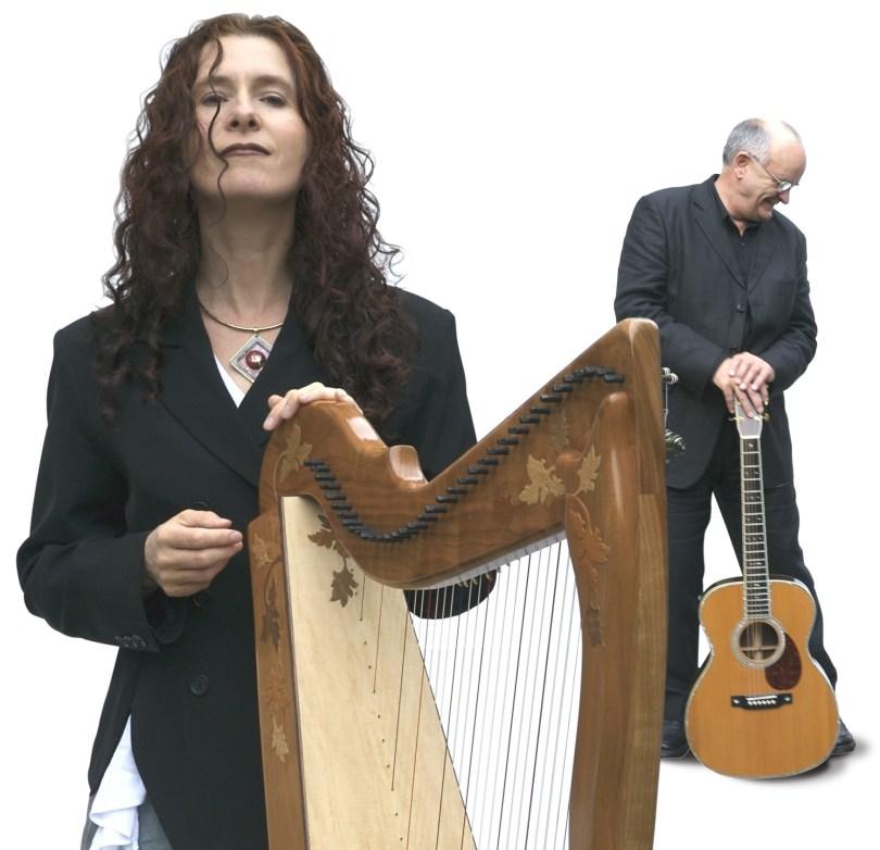 Máire Ní Chathasaigh and Chris Newman