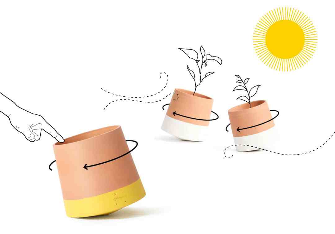 Voltasol flower pot by We Are Living Things