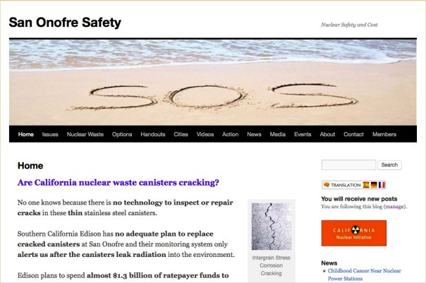 San Onofre Safety