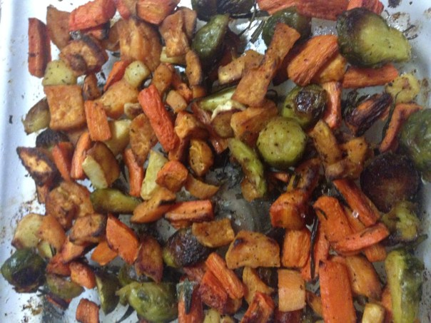 Roasted Veggies (Lunch and Dinner)
