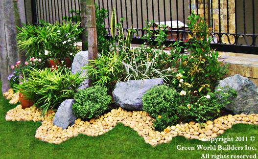small garden design ideas philippines Green World Builders Inc. Landscaping Philippines