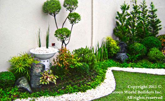 small garden design ideas philippines Landscaping Garden Portfolio - Green World Builders Inc