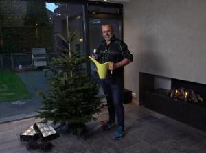 Voeding voor de kerstboom