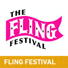 Fling Festival Festival yurts - yurt hire uk