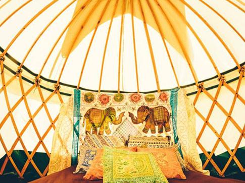 Festival Wedding - Bridal Yurt