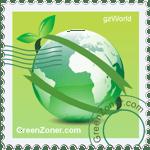 GreenZoner stamp - take free gifts and make world greener
