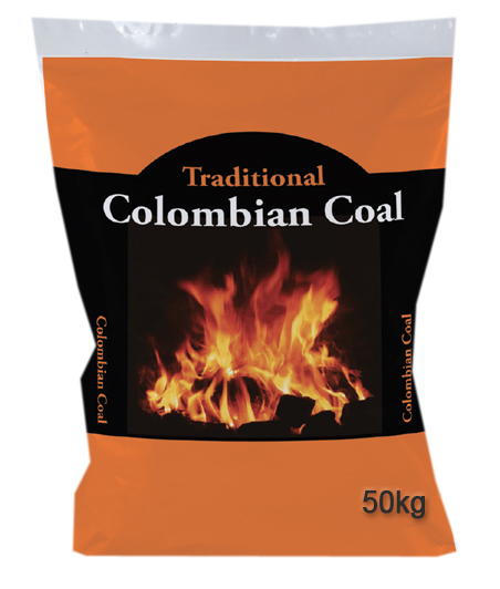 Traditional Colombian Coal 50Kg