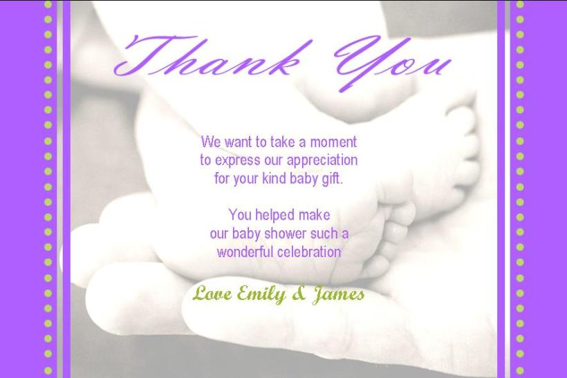 What To Write Thank You Cards For Baby Shower Cardfssn Org