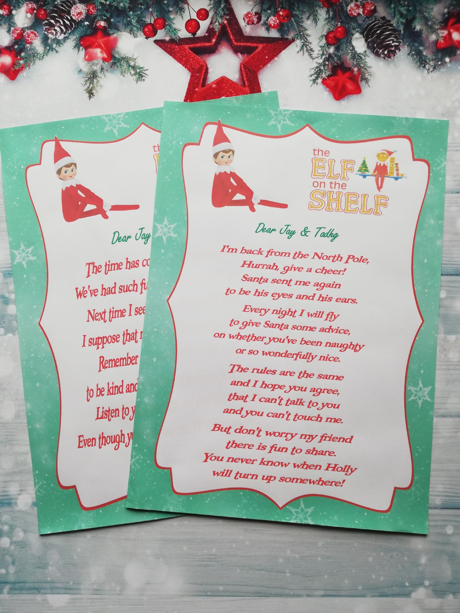 Goodbye Note From Elf On The Shelf Avalonit